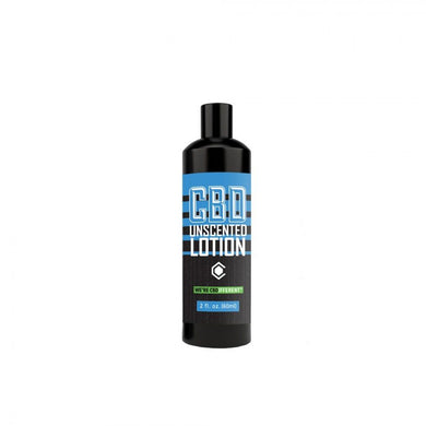 CBD lotion unscented