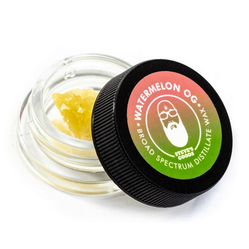 Steve's Goods wax Watermelon CBD