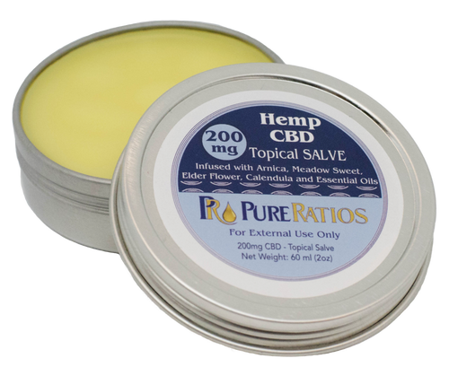 Pure Ratios CBD salve - 2oz