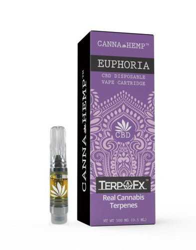 CannaHemp vape cartridge - Euphoria