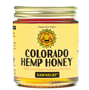 Colorado Hemp Honey - 500mg - Raw Relief