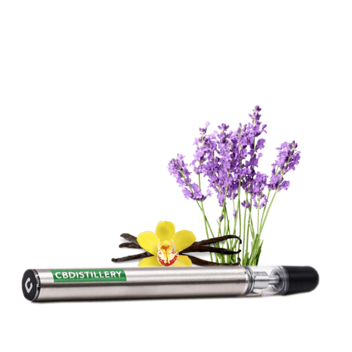 CBDistillery 200mg disposable vape - lavender vanilla