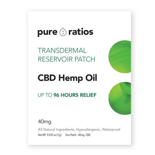 Pure Ratios CBD pain patch