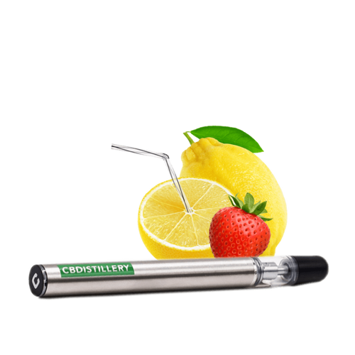 CBDistillery 200mg disposable vape - strawberry lemonade