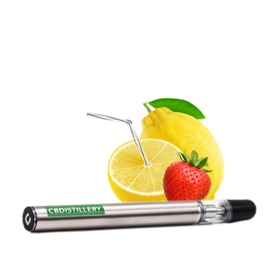 CBDistillery CBD vape disposable strawberry lemonade
