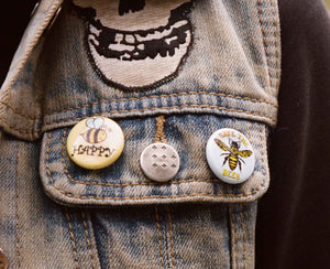 Bee Happy Pin -Free Shipping