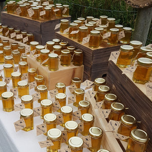 Honey Favors for Weddings, Bridal Shower, Baby Shower, Special day - Single Jar