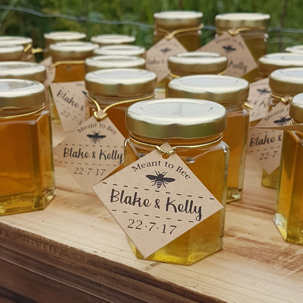 Honey Favors for Weddings, Bridal Shower, Baby Shower, Special day - Set of 24