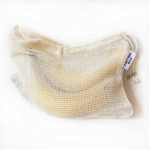 Reusable Mesh Cotton Produce Bags - 6 pack - FREE SHIPPING