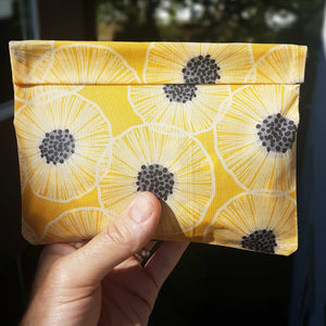Beeswax Food Wrap - Sandwich - Snack Bag- Zero waste - Food Safe - Reusable FREE SHIPPING