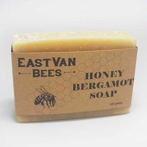 Natural Raw Honey & Bergamot Artisanal Soap