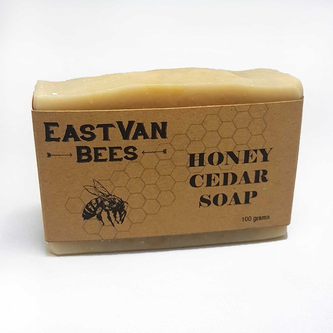 Natural Raw Honey & Cedar Artisanal Soap