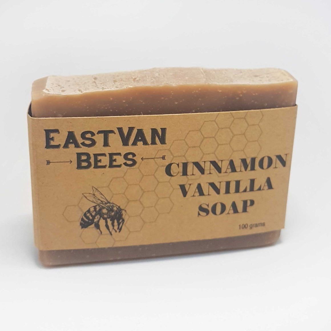 Natural Raw Honey, Cinnamon & Vanilla Artisanal Soap