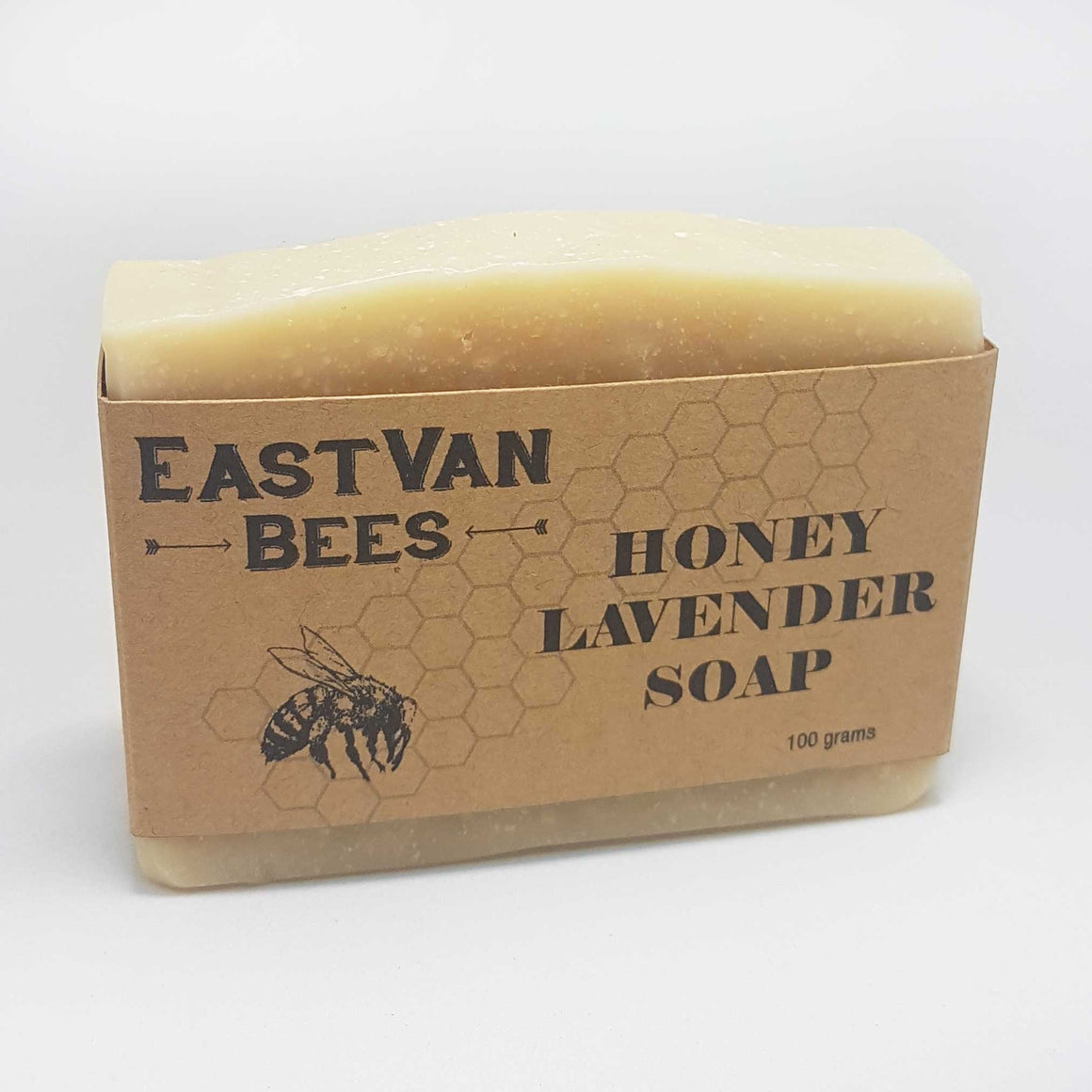 Natural Raw Honey & Lavender Artisanal Soap