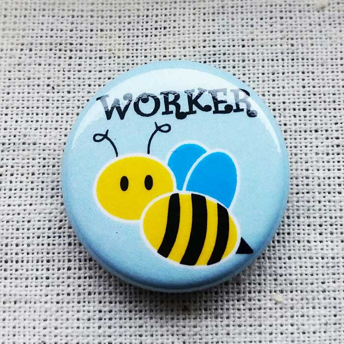 WORKER BEE PIN