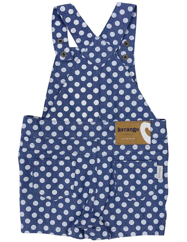 Korango Girls Heart Playsuit Dark Denim