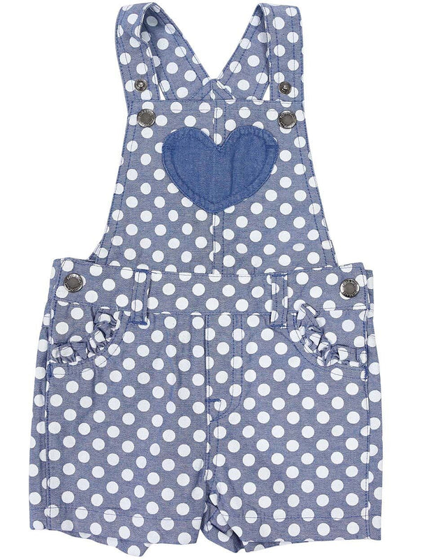 Korango Girls Heart Playsuit Light