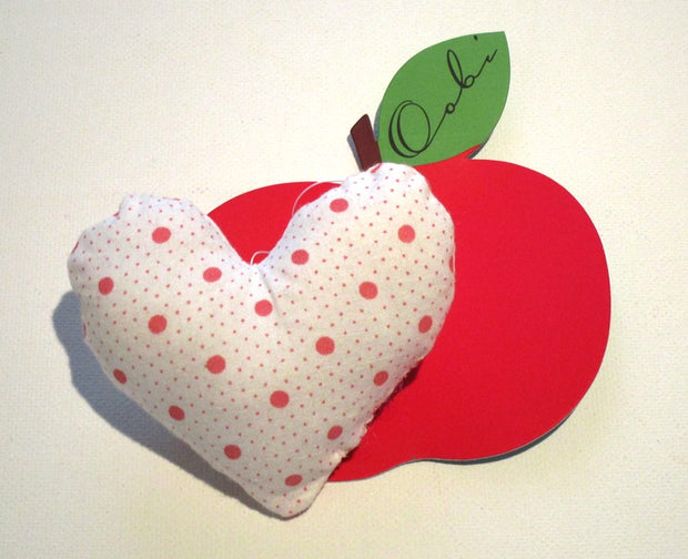 Oobi Girls Padded Heart Brooch