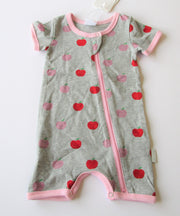 Korango Apple Short Sleeve Romper