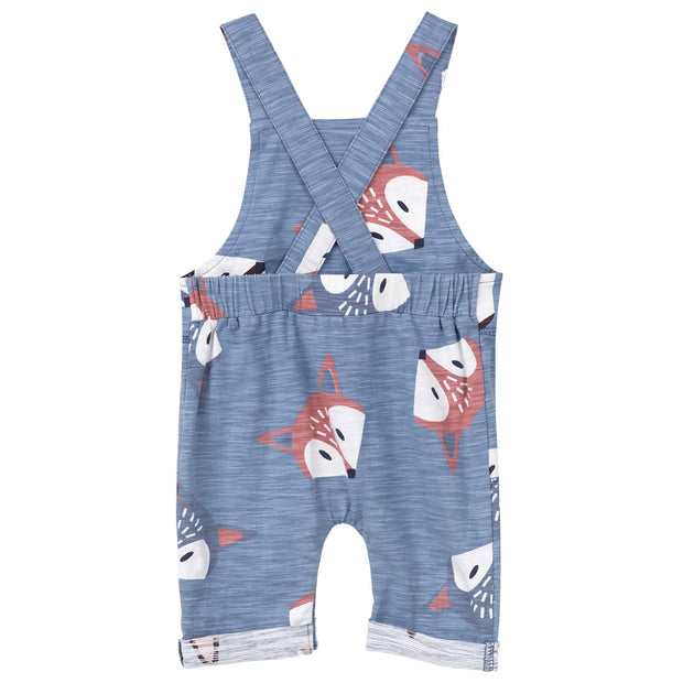 Designer Kidz Fancy Fox Baby Overalls