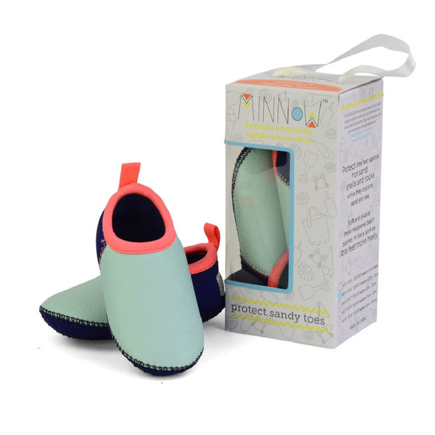 Minnow Designs Minty Toddler Soft Sole Beach Shoe