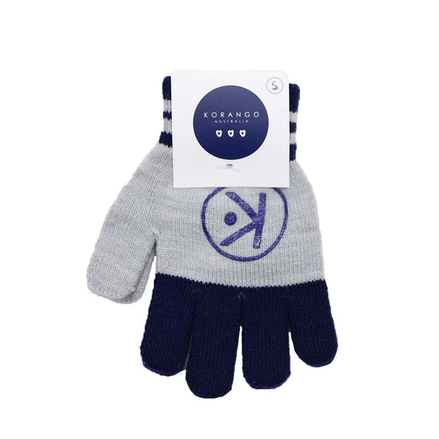 Korango Boys Navy & Grey Gloves Large 2-4Y