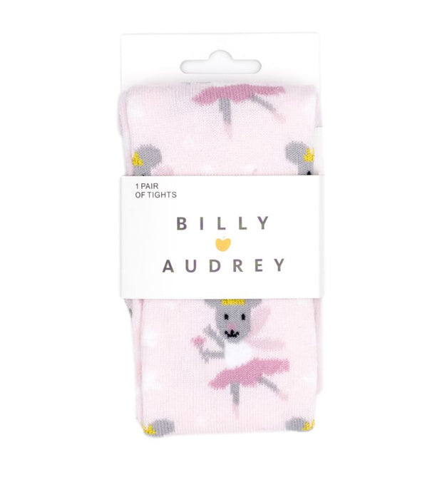 Billy Loves Audrey Pink Mouse Fairy Tights