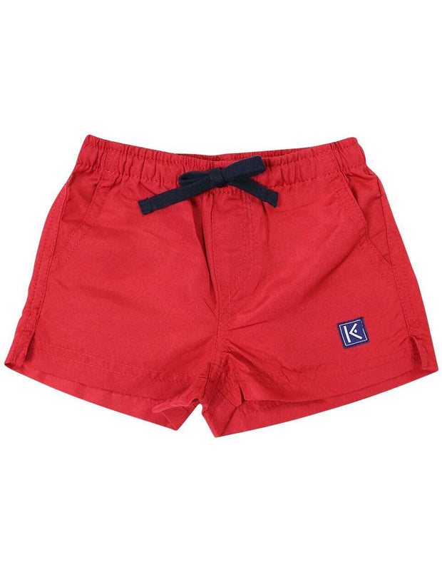 Korango Boys Camper Van Board Short Red