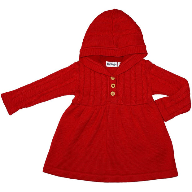 Korango Red  Fairy Dreams Cable Knit Dress