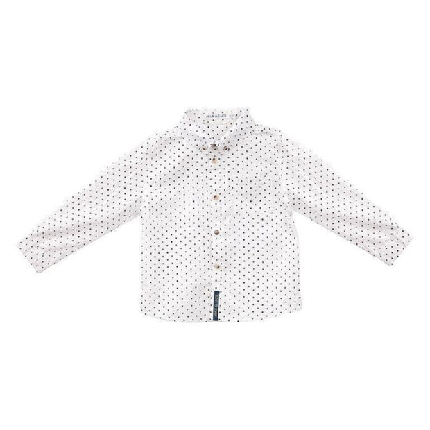 Max & Jack Boys Hunter Arrow Print Shirt/L - White