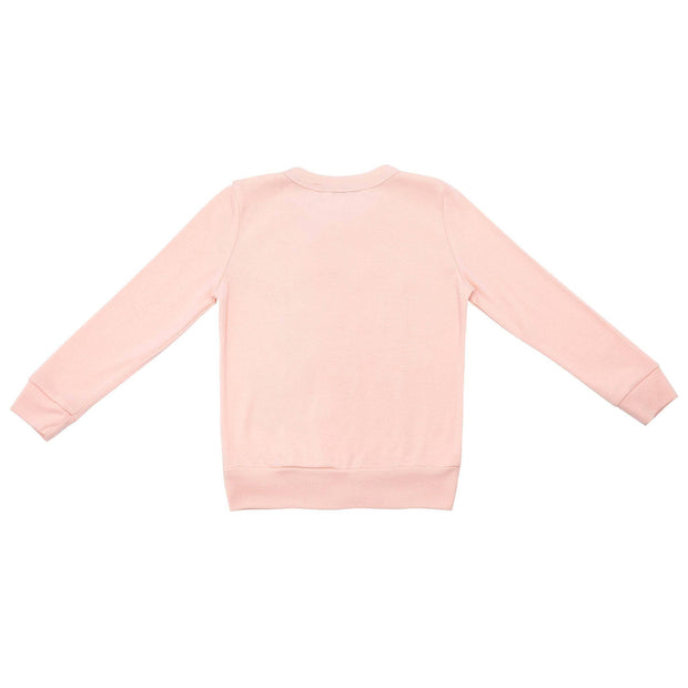 Designer Kidz Girls Short Cake Cardigan - Peach