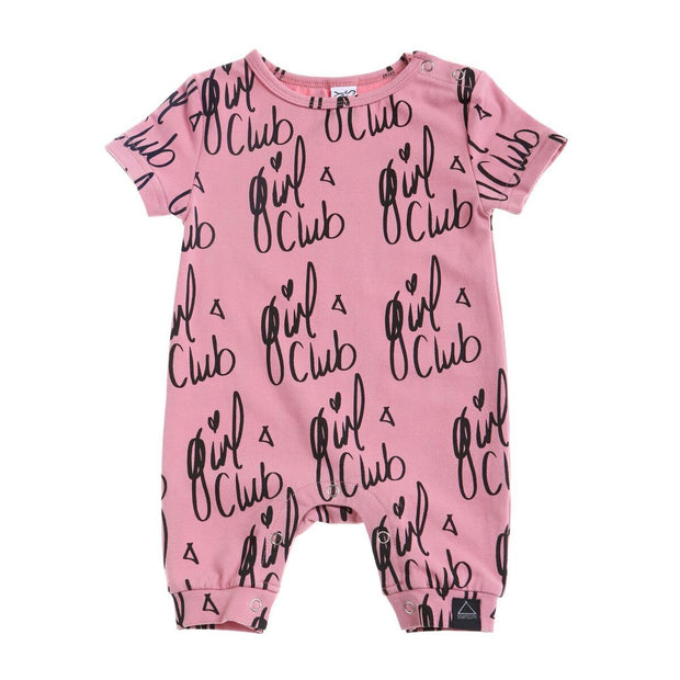 Sunday Soldiers Girl Club Romper