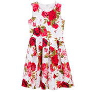 Designer Kidz Joy Floral Dress