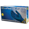 GlovePlus Blue Vinyl Industrial Glove