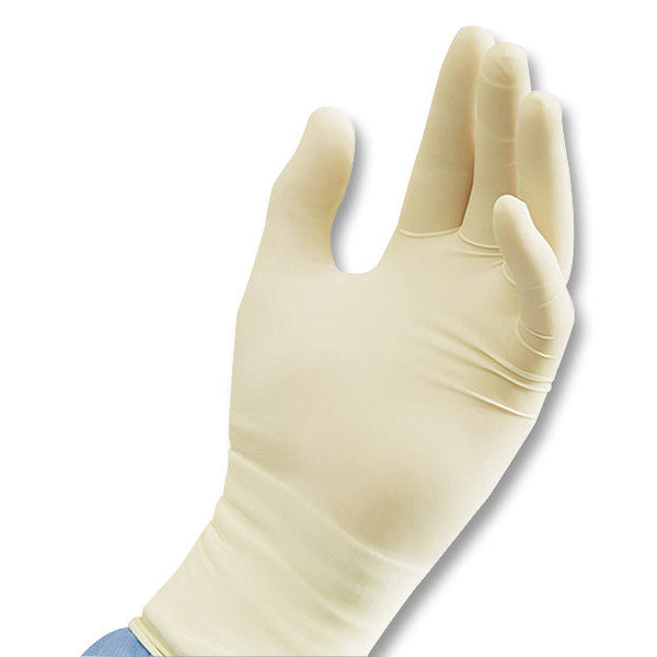 Basic Medical Stretch White Vinyl Gloves