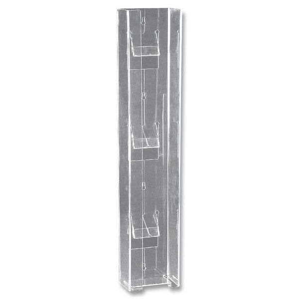 Glove Box Holder - Triple Vertical - Clear