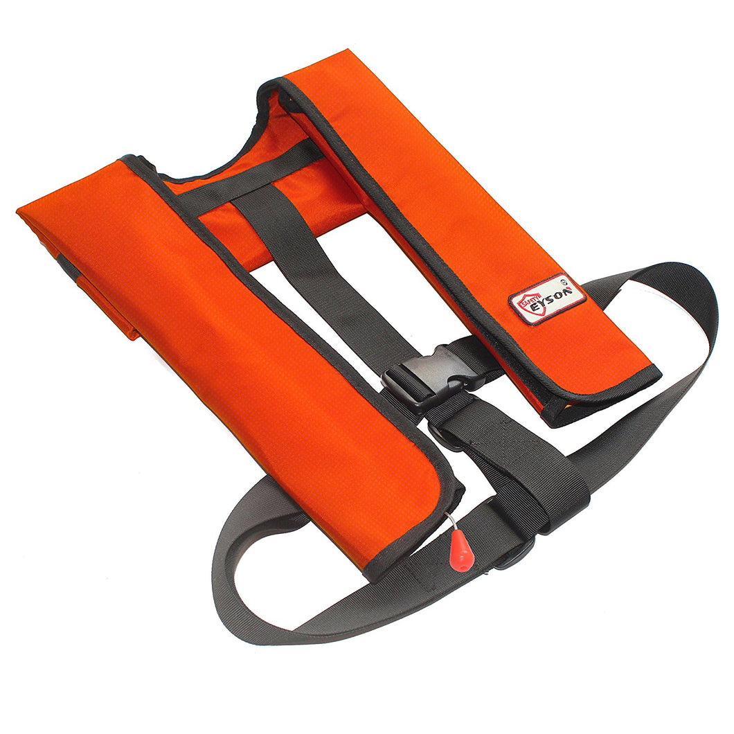 2020 Inflatable Life Jacket Automatic//Manual Boating Vest Preserver PFD 150N Red