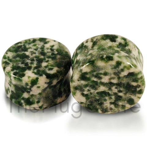 Amazonite Stone Premium Plugs for stretched ears