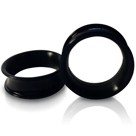 Black Silicone Ear skins