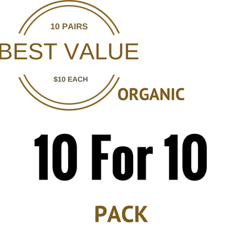 Organic 10 For 10 Pack