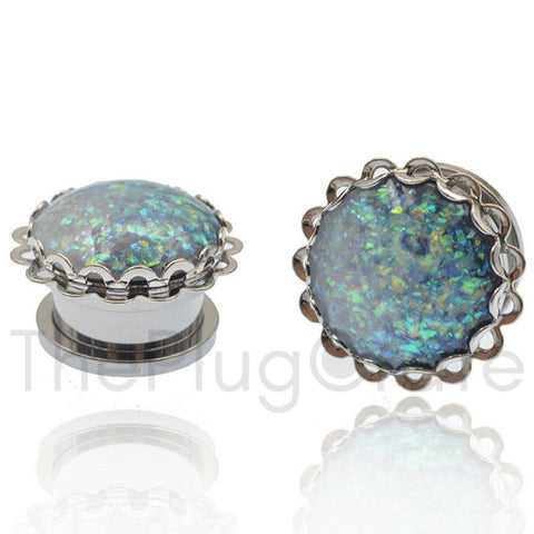Mermaid Fin Steel Plugs