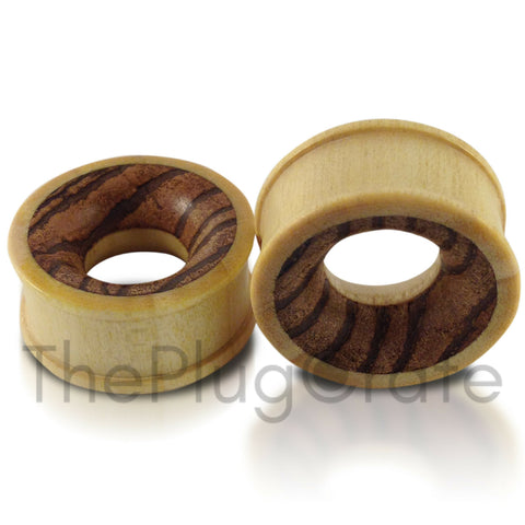 Crocodile Wood with Parasite Wood Inlay Tunnels
