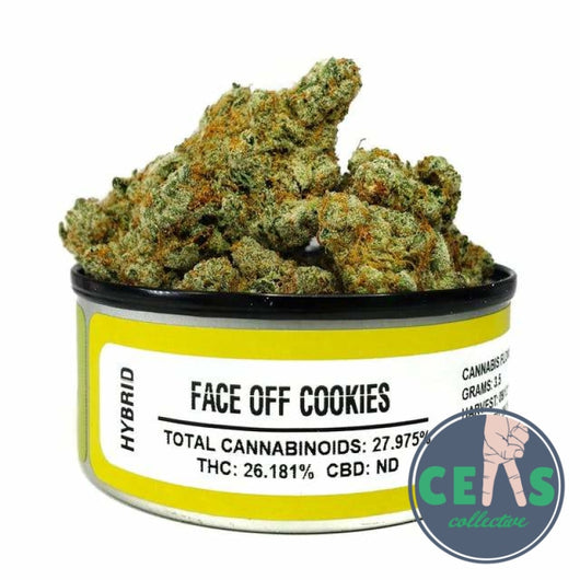 Face Off Cookies - Space Monkey Meds