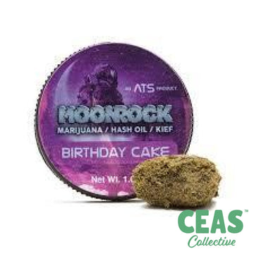 Birthday Cake - Moon Rock
