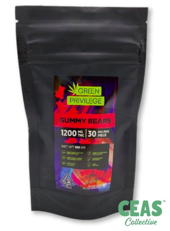 Gummy Bears - 1200Mg!