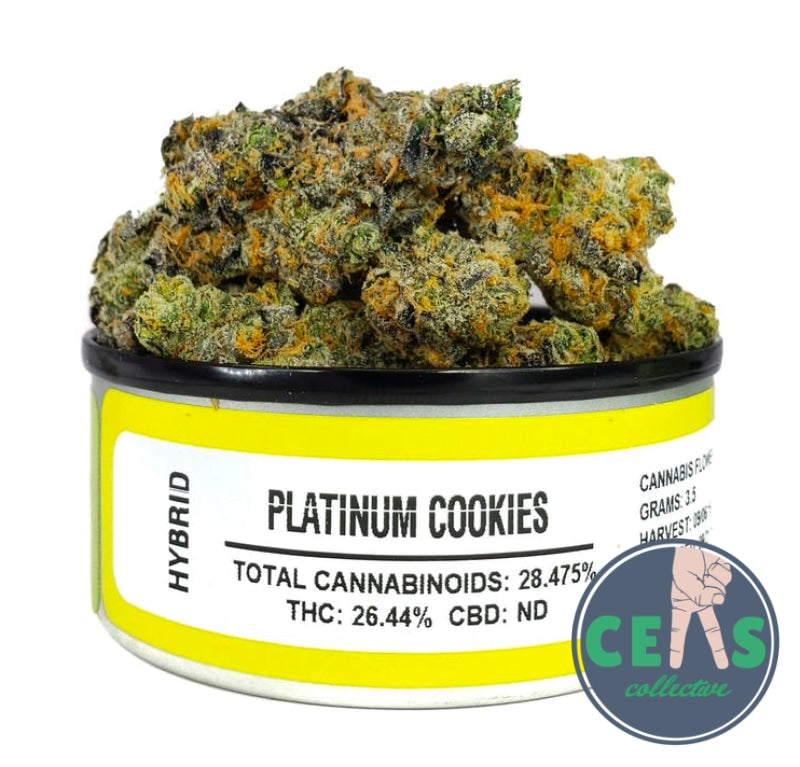 Platinum Cookies - Space Monkey Meds