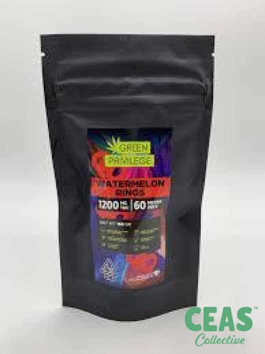Watermelon Rings - 1200 Mg!