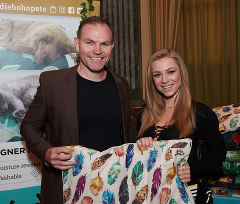 Nikki Leigh, Oscars 2018, gifting suite, pet bed, dog beds, Australian pet brand, designer pet bed
