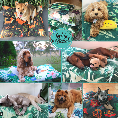 Indie Boho Dog Beds