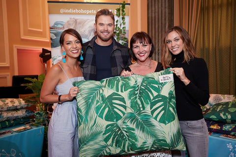Kellan Lutz, Brittany Gonzalez, Tara Caldwell, Sora Caldwell, Oscars 2018, Academy Awards 2018, Celebrity Connected, Gifting Suite